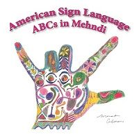 American Sign Language ABCs in Mehndi