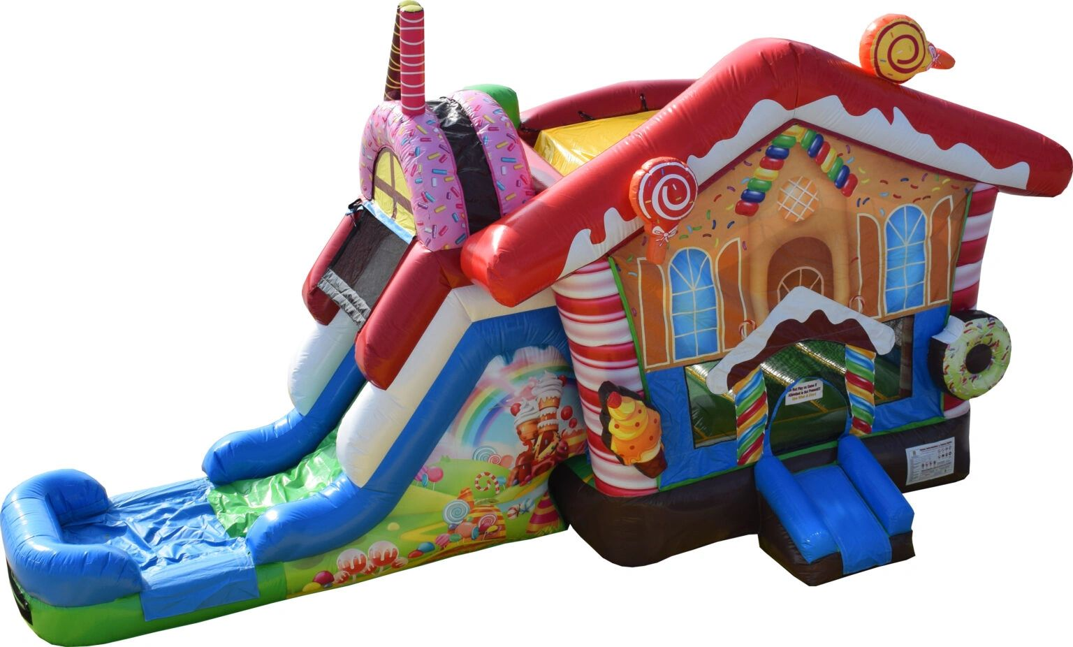 Candyland Bounce House Rental from www.itstime2bounce.com in Nashville TN