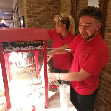 Popcorn hire | candy floss | josies face painting and entertaining | childrens party entertainers