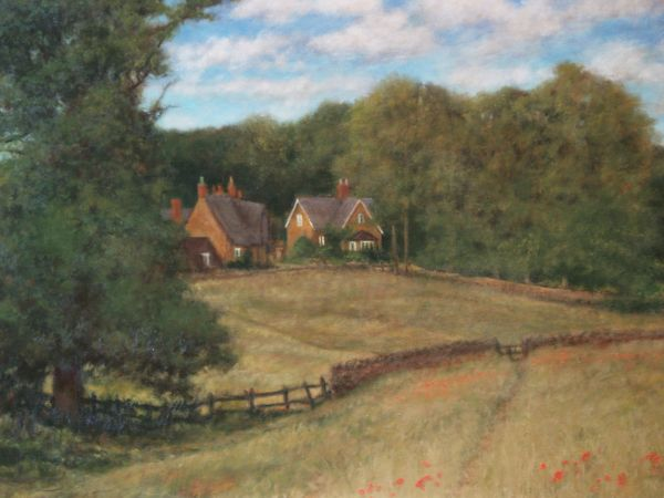 SOLD Commission - The Walk to School, Lower Harlestone