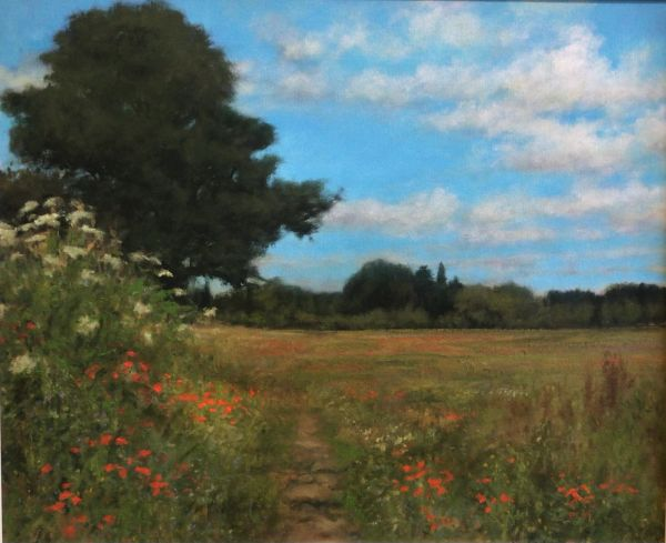 Corner of a Field, Great Brington (Giclee Print)