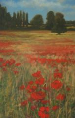 SOLD Poppies Near Heyford