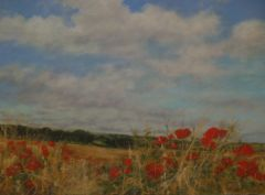 SOLD Poppies Near Cottesbrooke