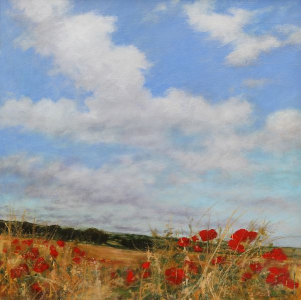 SOLD Poppies Landscape