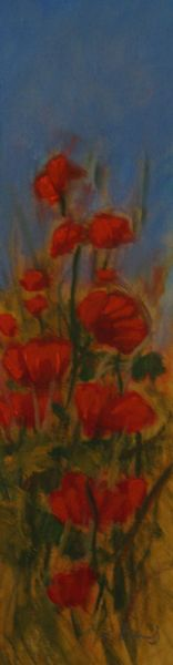 SOLD Poppies II