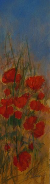 SOLD Poppies I