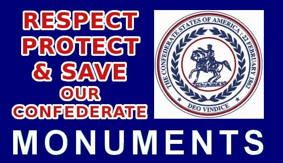 Respect Protect Amp Save Our Confederate Monuments 3 Quot X 5 75