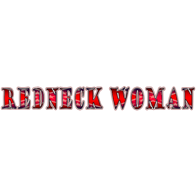 REDNECK WOMAN WINDSHIELD DECAL STICKER WINDOW