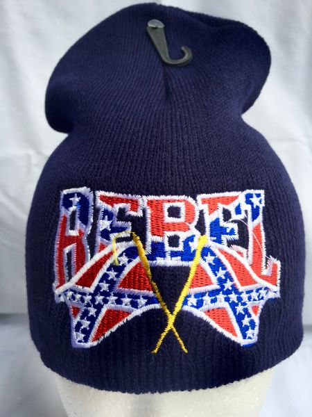 Double Rebel Flag Beanie Available In 6 Colors Dl
