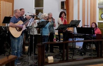 St. Andrew's Lutheran Church, Kamloops Worship Team, Band of Joy.