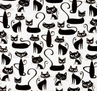 CATS - BLACK & WHITE - $48 TO $85
