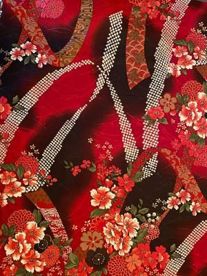 MAROON FLOWER GARDEN - $48 TO $85