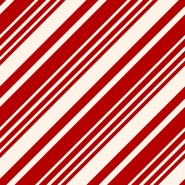 Candy Cane Christmas Pattern