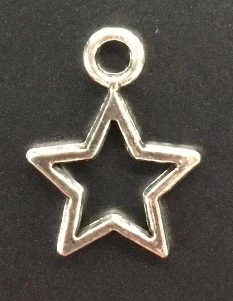 Star Charm Tibetan Silver Metal