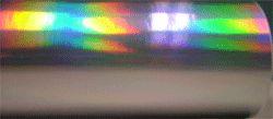 "12"" Mirrored SILVER Rainbow - Oil Slick - Adhesive Vinyl"