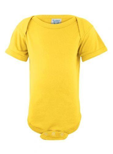 Infant Body Suit - Creeper - Yellow