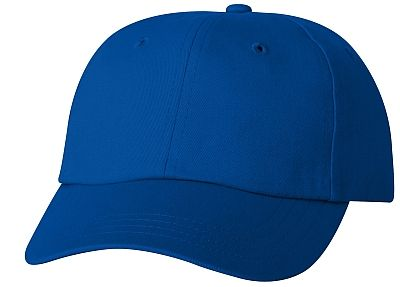 Cotton/Twill Cap - Low Profile - Royal