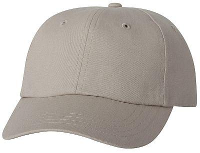 Cotton/Twill Cap - Low Profile - Khaki