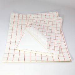 RED GRID Transfer Tape Application