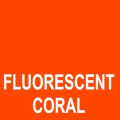 "15"" Siser Easy Heat Transfer Vinyl - Fluorescent Coral"