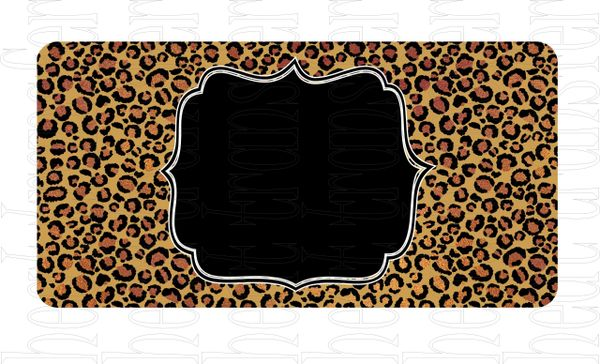 Sublimation Transfer - License Plate Sheets