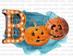 Sublimation Transfer -Halloween