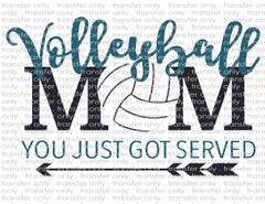 Sublimation Transfer - Volleyball