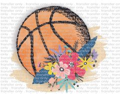 Sublimation Transfer - Basketball