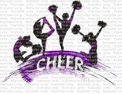 Sublimation Transfer - Cheer