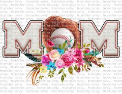 Sublimation Transfer - Baseball Mom