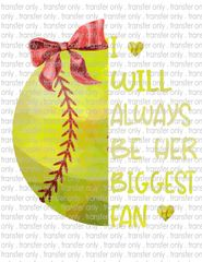 Sublimation Transfer - Softball Mom