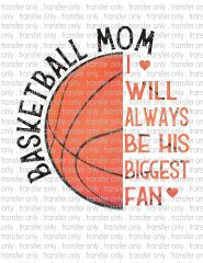 Sublimation Transfer - Basketball Mom