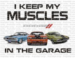 Sublimation Transfer - Dodge Muscle Cars