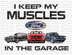 Sublimation Transfer - Ford Muscle Cars