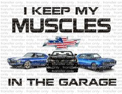 Sublimation Transfer - Chevrolet Muscle Cars