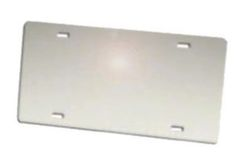 Mirrored Aluminum Plates - Silver