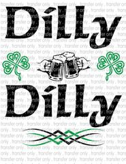 Sublimation Transfer - Dilly Dilly