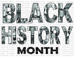 Sublimation Transfer - Black History Month