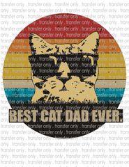 Sublimation Transfer - Best Cat Dad