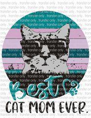 Sublimation Transfer - Best Cat Mom