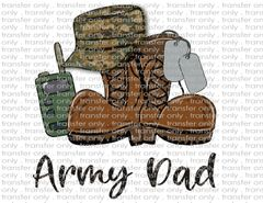 Sublimation Transfer - Army Dad