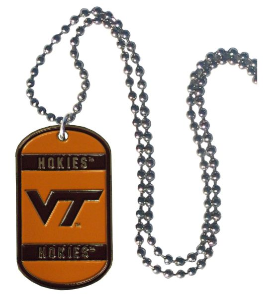 NCAA Virginia Tech Hokies Dog Tag