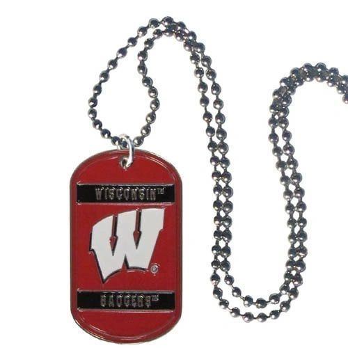 NCAA Wisconsin Badgers Dog Tag