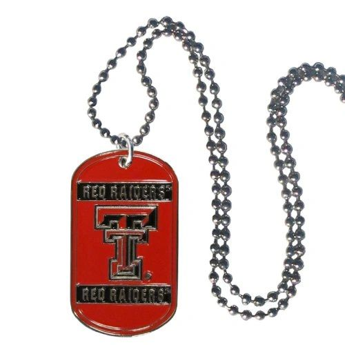 NCAA Texas Tech Red Raiders Dog Tag