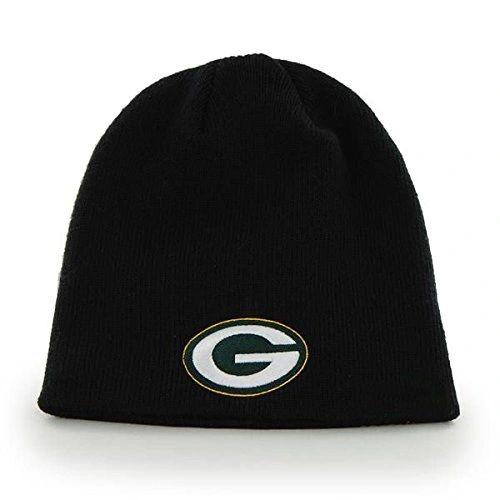 NFL Green Bay Packers Black Beanie