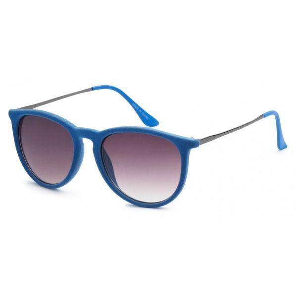 1061 Fuzzy Velvet Retro Blue