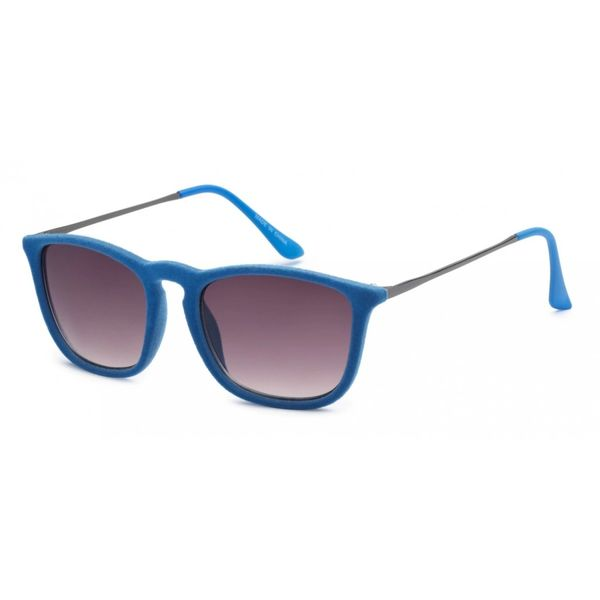 1062 Fuzzy Velvet Retro Blue