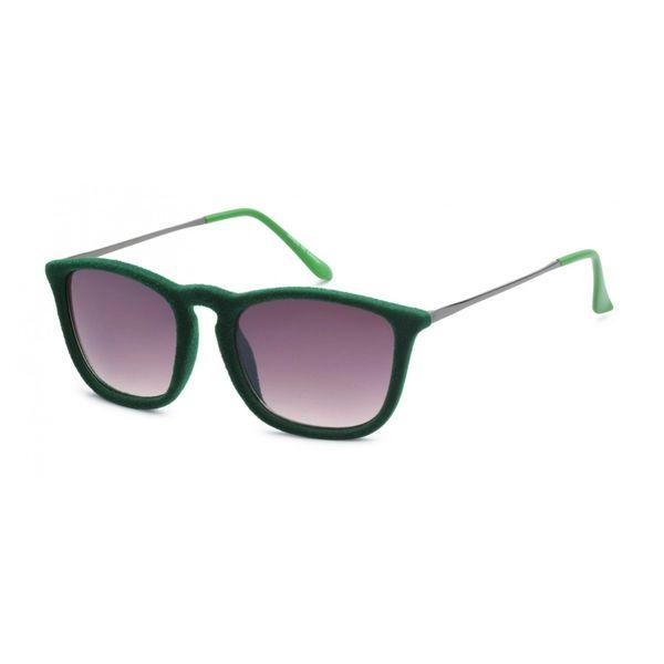 1062 Fuzzy Velvet Retro Green