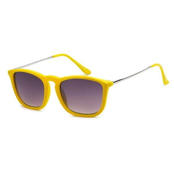 1062 Fuzzy Velvet Retro Yellow