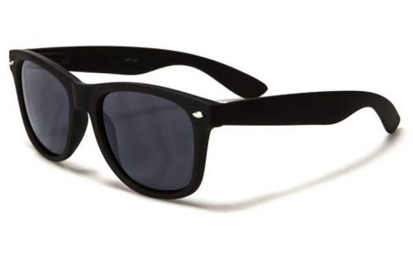 Retro Matte Finish Black – Smokek Lens